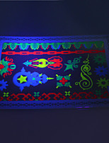 10/PCS Hot Sale Fluorescent Tattoo Handsome Multi-Style Temporary Tattoo For Fashion WST-174