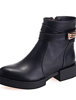 Women's Shoes  Wedge Heel Pointed Toe Boots Casual Black