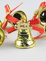 9PCS Christmas Tree Decorative Ornaments Small Bells