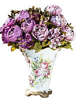 European WindFlower  in Silk Cloth Artificial Flower for Home Decoration(10Piece)