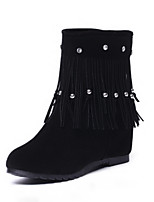 Women's Shoes Wedge Heel Round Toe Ankle  Boots More Colors available