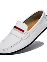 Men's Shoes Wedding / Office & Career / Party & Evening / Casual Nappa Leather / Patent Leather Loafers Blue / White