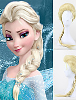 Snow And Ice Colors Wig Elsa Queen Elsa Cosplay Wig Ice And Snow Country Aisha Wig