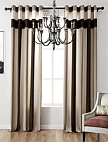 (One Panel) Bedroom Living Room Study Room Bedroom Environmental Polyester Chenille Curtain