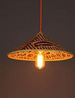 Bamboo Hat Chandelier Chandelier Lamp Fish People Hats