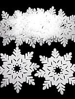15cm Snowflake Wall Glass Ornament(15 PCS)