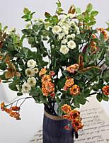 Silk / Plastic Lilac Artificial Flowers 2pcs/set