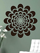 Botanical / Fashion Wall Stickers Plane Wall Stickers , PVC 61cm*61cm