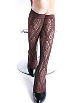 Women Thin Stockings , Cotton Blends / Nylon(3 pairs / groups)