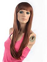 2015 donne Ombre resistente parrucca di modo ondulato naturale calore janpanese capelli sintetici m16271- # 30 28
