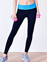 Yoga Tights Waterproof / Breathable /  Wicking / Compression High Elasticity Sports Wear Yoga Women's