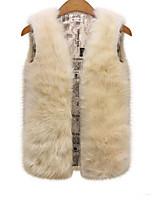 Women Rabbit Fur Top , Lined