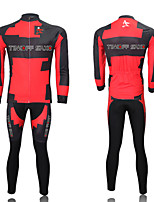 THINKOFF SAXO® Unisex Long Sleeve Spring / Summer / Autumn / Winter Cycling Suits TightsWaterproof / Breathable
