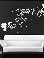 Botánico / De moda Pegatinas de pared Calcomanías de Aviones para Pared , PVC 91.4cm*45.7cm