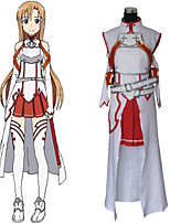 Anime Cosplay Costume Inspired by Sword Art Online Asuna Yuuki