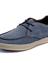 Men's Shoes Outdoor / Athletic / Casual Suede Oxfords Blue / Gray