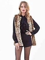 Women's  Faux Fur Top Winter Fur Vest