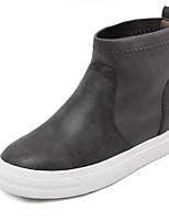 Women's Shoes Flat Heel Comfort Boots Outdoor Black / Gray