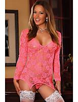 Vêtement de nuit Femme Jarretière / Ultra Sexy Polyester / Spandex