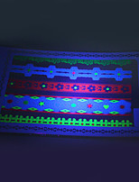 10/PCS Hot Sale Fluorescent Tattoo Handsome Multi-Style Temporary Tattoo For Fashion WST-154