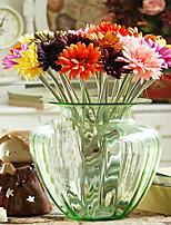 European Gerbera in Silk Cloth Artificial Flower for Home Decoration(10Piece)