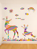 Animaux / Botanique / Romance / Nature morte / Mode / Floral / Fantaisie Stickers muraux Stickers avion , PVC60x90x 0.2cm 23.622x35.433x