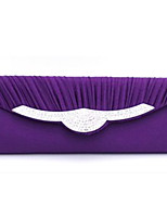 Women Other Leather Type Envelope Clutch / Evening Bag - White / Purple / Red / Gray / Black