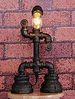 Retro Industrial Iron Pipe Lamp