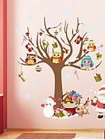 Navidad Pegatinas de pared Calcomanías de Aviones para Pared Calcomanías Decorativas de Pared,PVC Material Removible Decoración hogareña