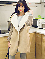 Women's Solid Brown / Gray Cardigan , Casual Long Sleeve
