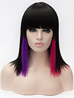 European and American Fashion Must-Have Color Shoulder-Length Hair Quality Wigs