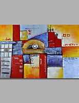 Hand-Painted Oil Painting on Canvas Wall Art Abstract Contempory Home Deco One Panel Ready to Hang