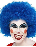 Christmas Necessary High Quality Blue Explosion Curly Hair The Wig