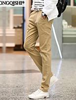 AOLONGQISHI® Men's Casual Pure Suits Pants (Cotton) 989-1