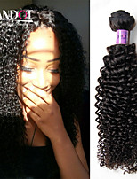 3Pcs Lot Peruvian Kinky Curly Virgin Hair Unprocessed Human Hair Weave Bundles Peruvian Deep Curly Wave Natural Black