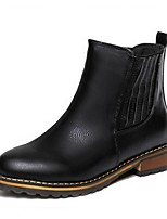 Women's Shoes  Split Sole Fashion Boots Boots Office & Career / Casual Black / Brown / Yellow