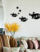 Animals / Fashion Wall Stickers Plane Wall Stickers , PVC 81.3cm*40.6cm