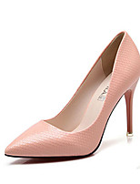 Women's Shoes Leatherette Stiletto Heel Styles / Pointed Closed Toe HeelsWedding / Outdoor / Office / Party & Evening /