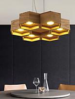 Luzes Pingente - Madeira/Bambu - LED -Sala de Estar / Quarto / Sala de Jantar / Quarto de Estudo/Escritório / Quarto das Crianças /