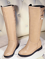Women's Shoes Low Heel Fashion Boots Boots Casual Black / Brown / Beige