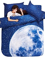 Blue Moon Bedding Set Of 4pcs For Four Season Use