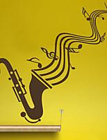 Music / Fashion Wall Stickers Plane Wall Stickers , PVC 44cm*56cm