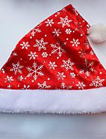 12pcs padre roja moda para adultos fiesta de Navidad de Navidad de santa de disfraces sombrero traje