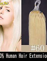 8A Natural Micro Ring Hair Extension 18