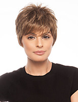 European Women Lady's Fashion Type Stylish  Short  Synthetic  Hair  Extension