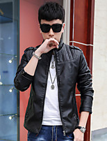The city boy new winter men coats leather