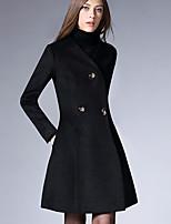 Damen Mantel  -  Retro Langarm Andere