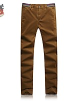 Men's Chinos , Casual / Work / Formal / Plus Sizes Pure Cotton