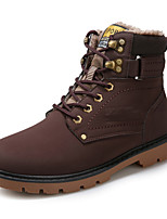 Men's Shoes Outdoor / Casual Boots Black / Brown / Yellow