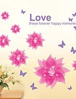 Botanical / Fashion Wall Stickers Plane Wall Stickers , PVC 50cm*70cm